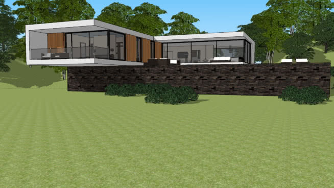 Free HOUSE and VILLAS Vray Materials for Sketchup and Rhino