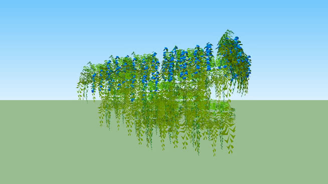 Free Trees, Bushes and Flowers Vray Materials for Sketchup and Rhino
