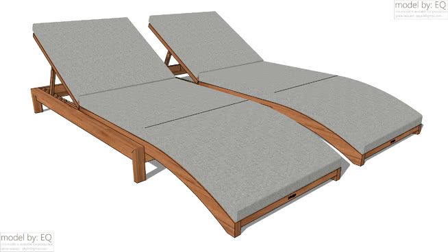 free garden furniture vray materials for sketchup and rhino vismatscom - Garden Furniture 3d