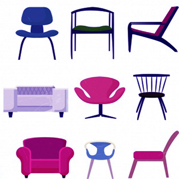 Armchairs and Chairs